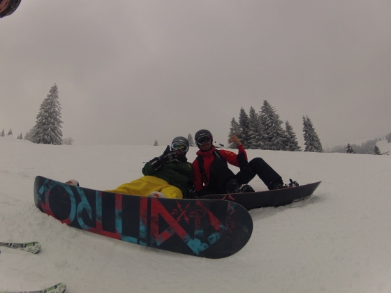 Snowboarding Black Forest