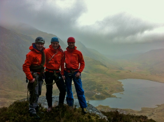 Mountaineering Wales
